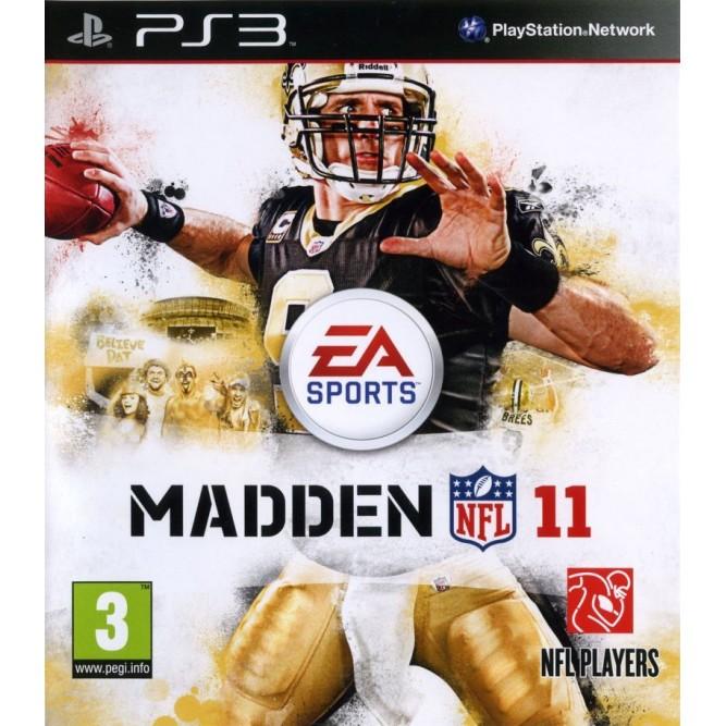 Игра Madden NFL 11 (PS3) б/у (rus)