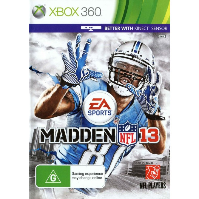 Игра Madden NFL 13 (поддержка Kinect) (Xbox 360) (eng) б/у
