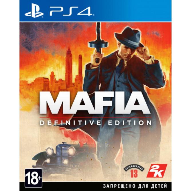 Игра Mafia: Definitive Edition (PS4) (rus sub)