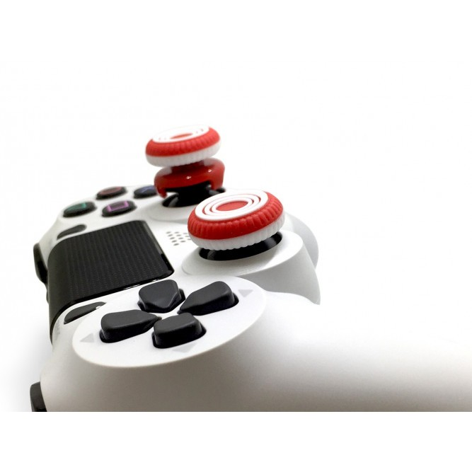 Накладки на стики DualShock 4 Marksman Rings White S