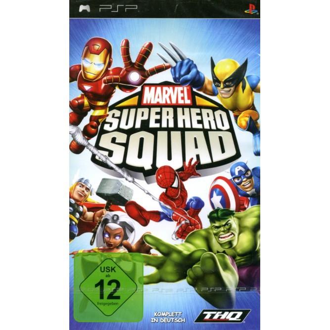 Игра Marvel Super Hero Squad (PSP) б/у