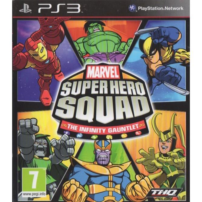Игра Marvel Super Hero Squad: The Infinity Gauntlet (PS3) б/у