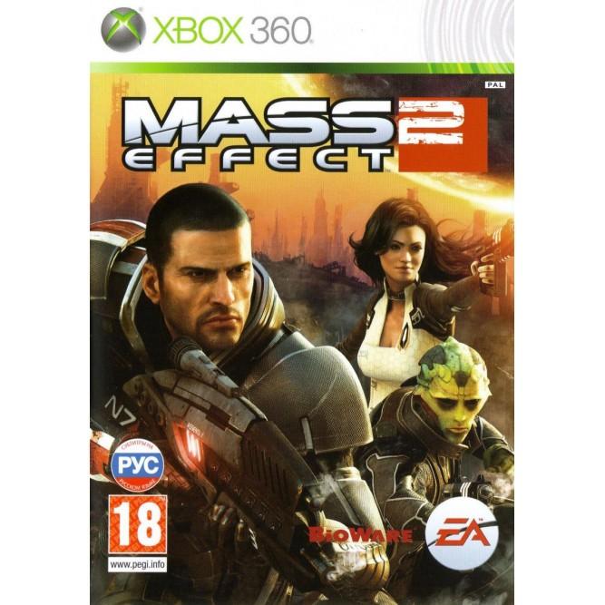 Игра Mass Effect 2 (Xbox 360) б/у