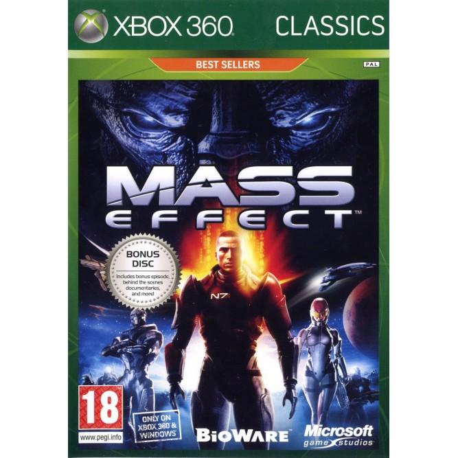 Игра Mass Effect (Classics) (Xbox 360) (rus sub) б/у