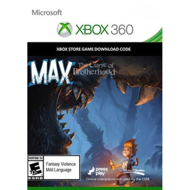 Игра Max: The Curse of Brotherhood (Код на загрузку) (Xbox 360)