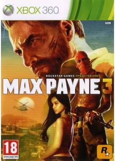 Игра Max Payne 3 (Xbox 360) б/у (eng)