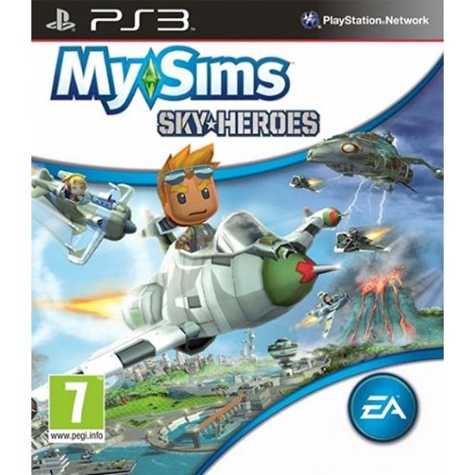 Игра MySims SkyHeroes (PS3) б/у (eng)