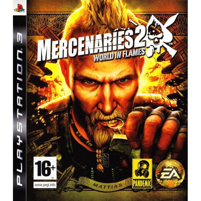 Игра Mercenaries 2: World in Flames (PS3) (rus sub) б/у