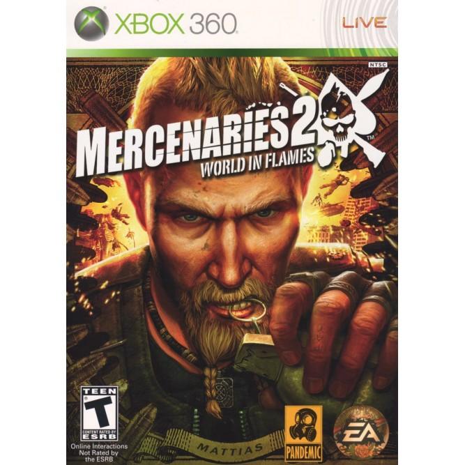 Игра Mercenaries 2: World in Flames (Xbox 360) б/у