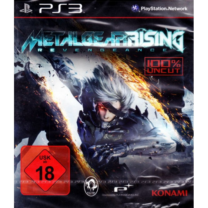 Игра Metal Gear Rising: Revengeance (PS3) б/у