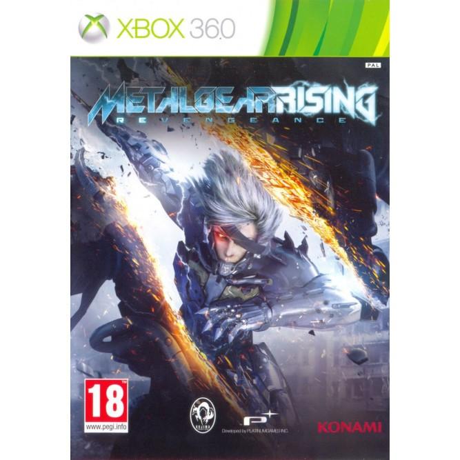Игра Metal Gear Rising: Revengeance (Xbox 360) б/у