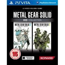 Игра Metal Gear Solid: HD Collection (PS Vita)