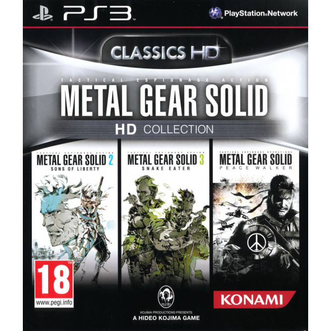 Игра Metal Gear Solid HD Collection (MGS) (PS3) (eng)