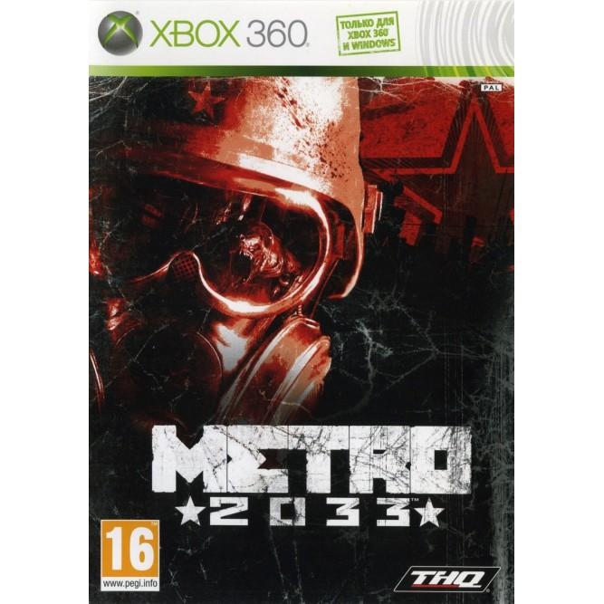 Игра Metro 2033 (Xbox 360) б/у