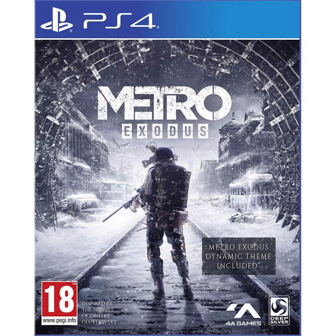 Игра Metro: Exodus (Метро: Исход) (PS4) б/у (rus)
