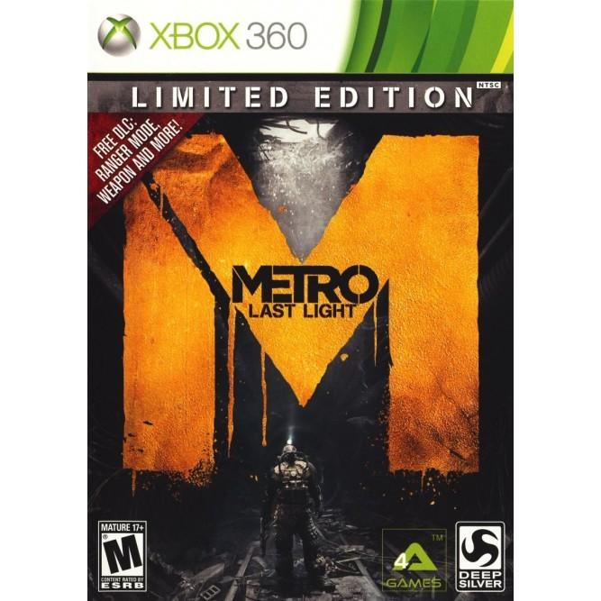 Игра Метро 2033: Луч надежды. Ограниченное издание (Xbox 360) (rus) б/у