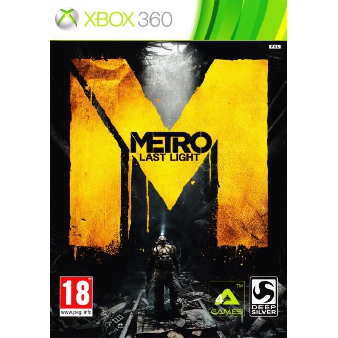Игра Метро 2033: Луч надежды (Xbox 360) б/у