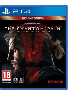 Игра Metal Gear Solid V: The Phantom Pain (PS4)
