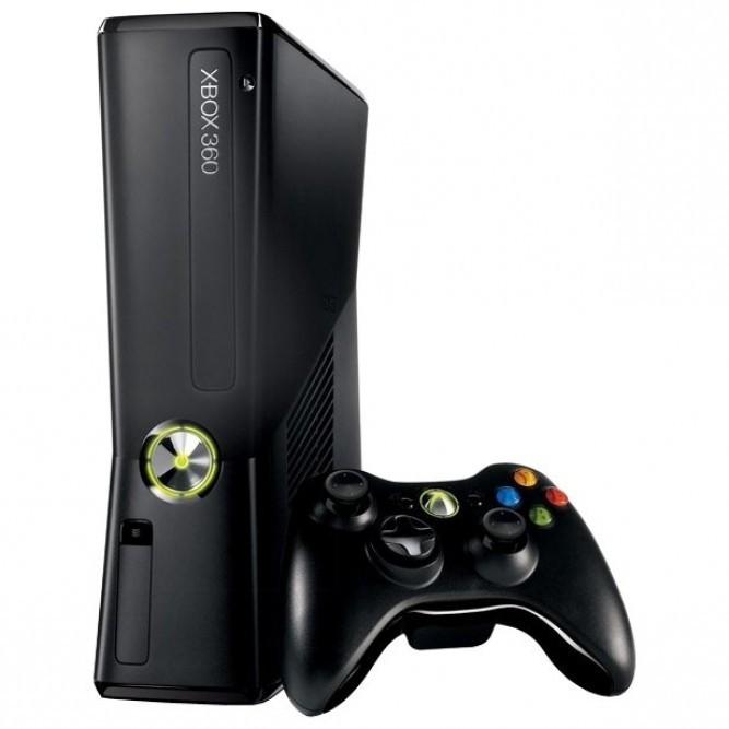 Приставка Xbox 360 Slim (250 Гб) Freeboot, б/у
