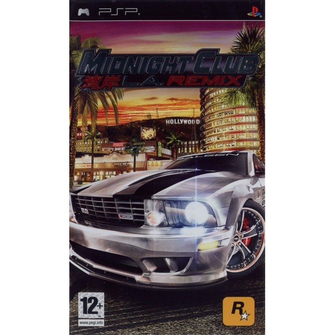 Игра Midnight Club: LA Remix (PSP) б/у