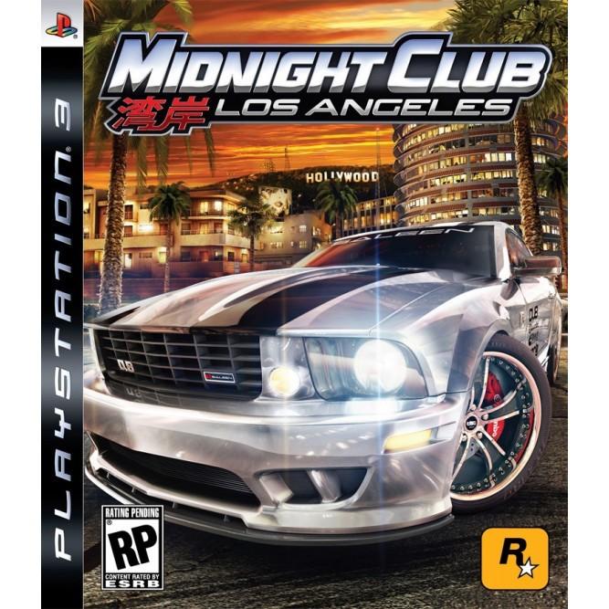 Игра Midnight Club: Los Angeles (PS3) б/у