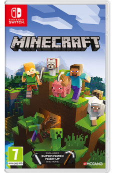 Игра Minecraft (Nintendo Switch) (rus sub)
