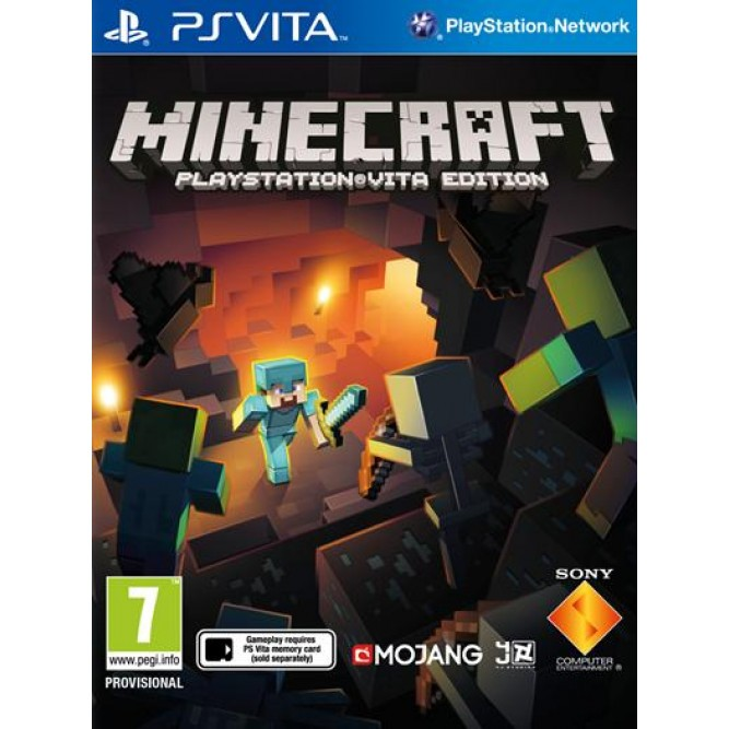 Игра Minecraft: PlayStation Vita Edition (PS Vita) б/у