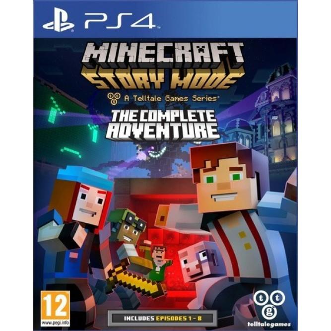 Игра Minecraft: Story Mode - The Complete Adventure (PS4) б/у (rus sub)