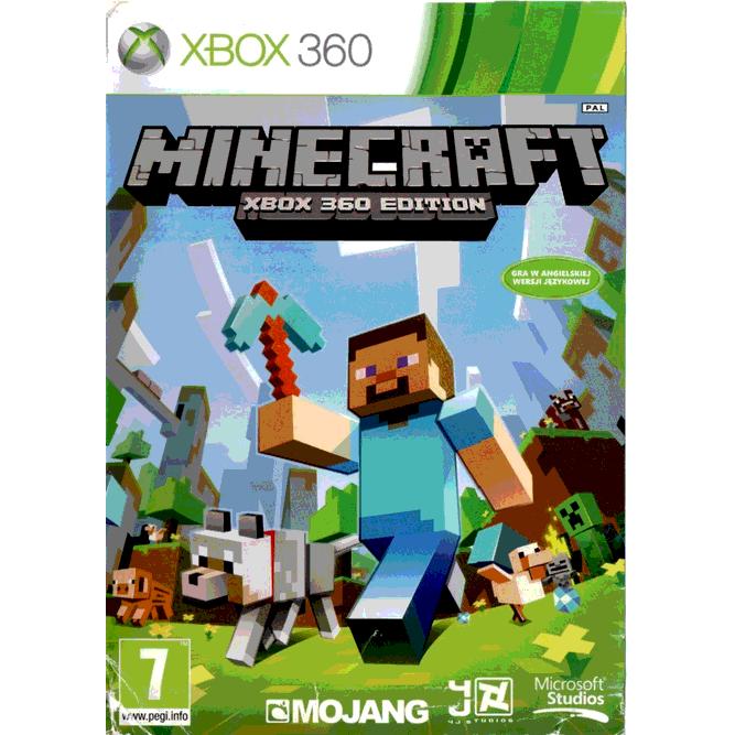 Игра Minecraft (Xbox 360) б/у