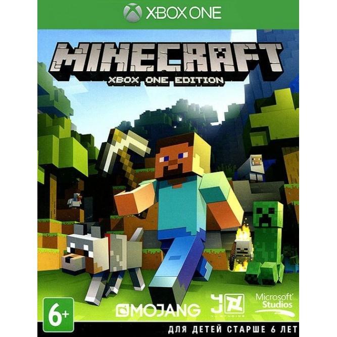 Игра Minecraft: Xbox One Edition (Xbox One) б/у (rus)