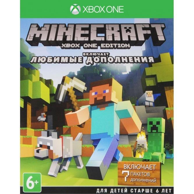 Игра Minecraft. Favorites Pack (Xbox One) (rus)