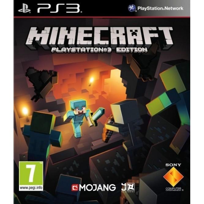 Игра Minecraft. PlayStation 3 Edition (PS3) б/у