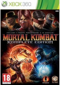 Игра Mortal Kombat Komplete Edition (Xbox 360)