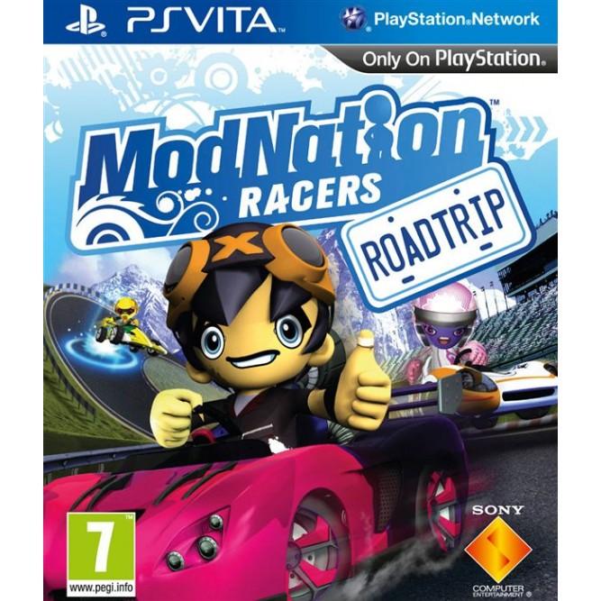 Игра ModNation Racers: Roadtrip (PS Vita) б/у