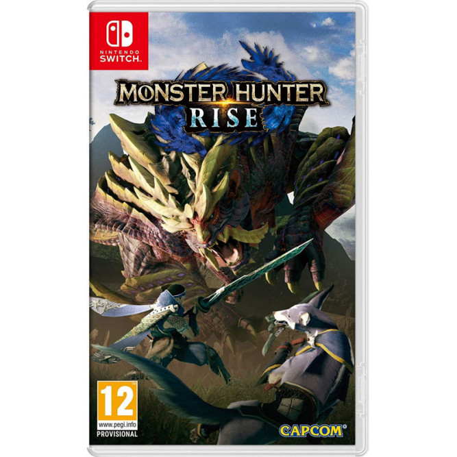 Игра Monster Hunter Rise (Nintendo Switch) (rus sub)