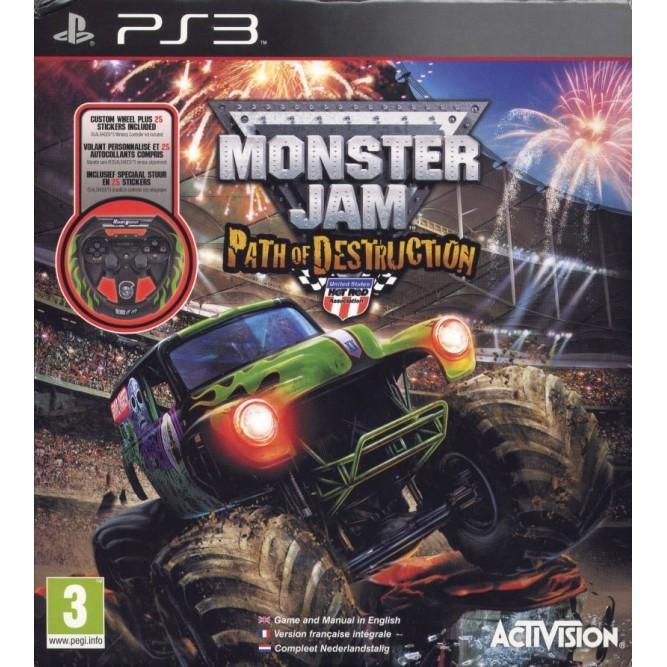 Игра Monster Jam: Path of Destruction (PS3) б/у (eng)