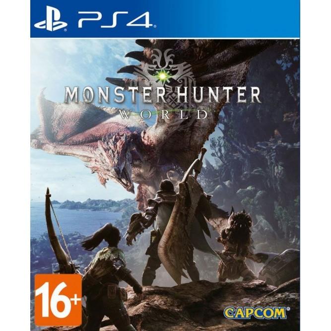Игра Monster Hunter: World (PS4) (rus sub)