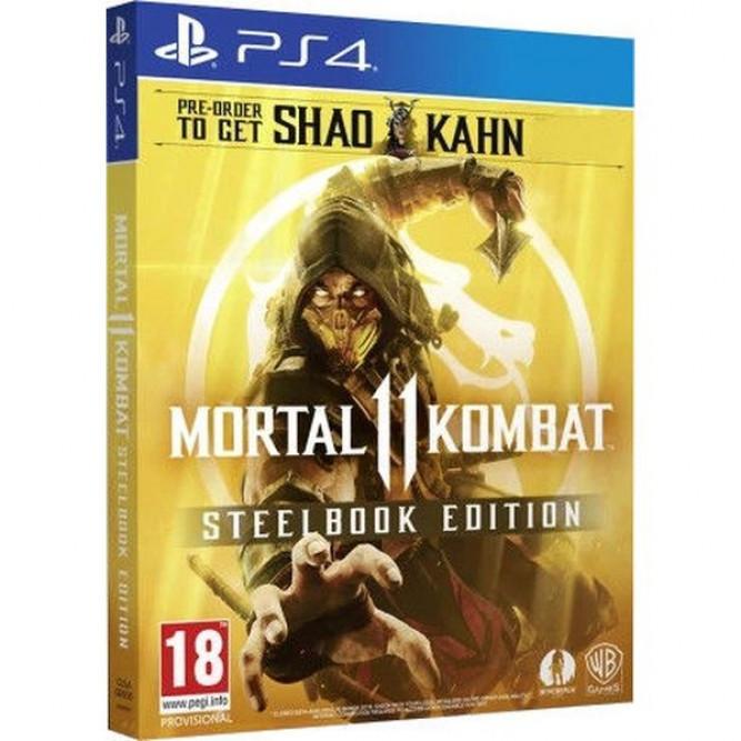 Игра Mortal Kombat 11 - Steelbook Edition (PS4) (rus sub)