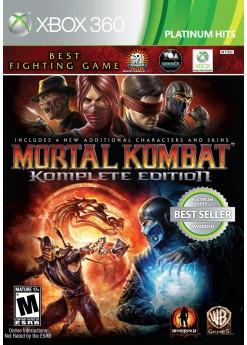 Игра Mortal Kombat: Komplete Edition (Xbox 360) б/у