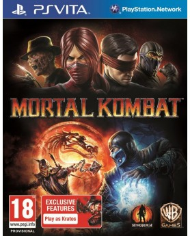 Игра Mortal Kombat (PS Vita) б/у