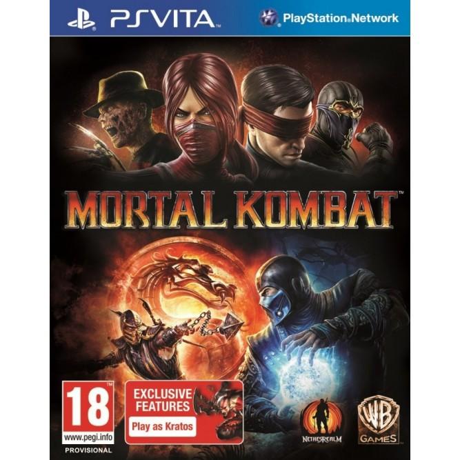 Игра Mortal Kombat (PS Vita) б/у