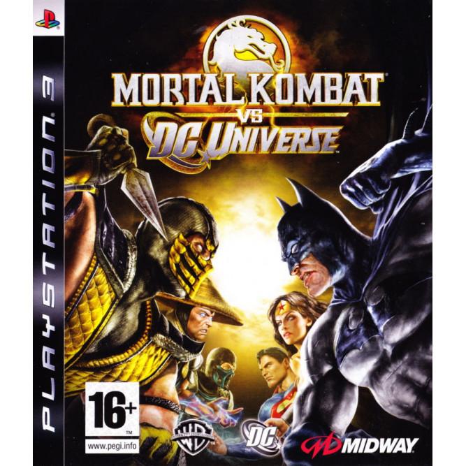 Игра Mortal Kombat vs. DC Universe (Essentials) (PS3) б/у