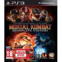 Игра Mortal Kombat: Komplete Edition (PS3) б/у