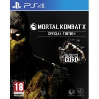Игра Mortal Kombat X (Steelbook Edition) (PS4) б/у