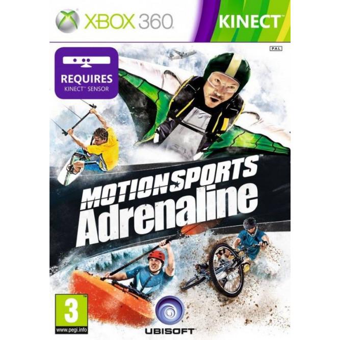 Игра Motionsports Адреналин (Только для Kinect) (Xbox 360) б/у