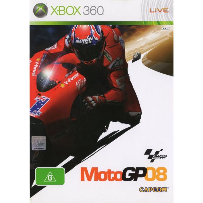 Игра MotoGP 08 (Xbox 360) б/у