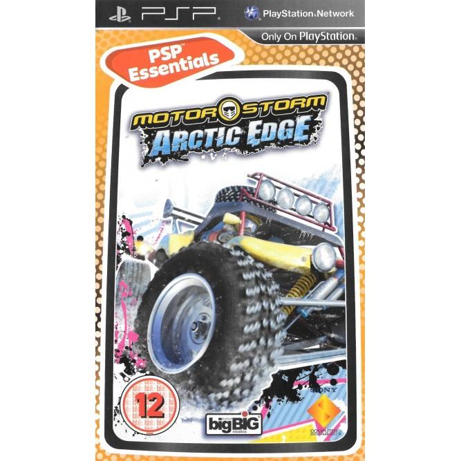 Игра Motorstorm: Arctic Edge (PSP) (rus) б/у
