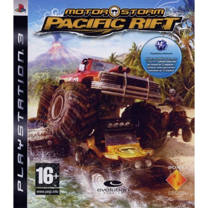 Игра Motorstorm: Pacific Rift (PS3) б/у