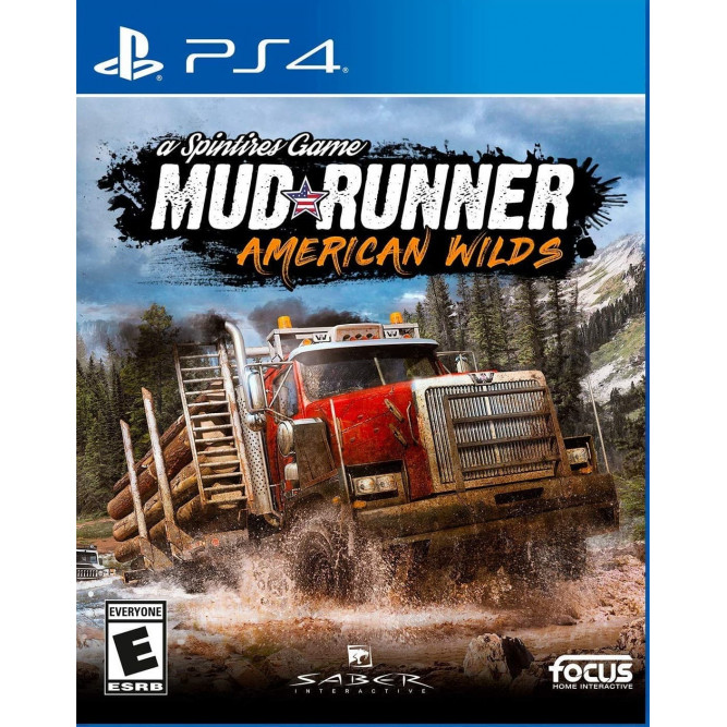 Игра Spintires: MudRunner - American Wild (PS4) (eng)