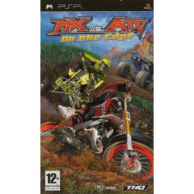 Игра MX vs ATV: On The Edge (PSP) б/у (eng)